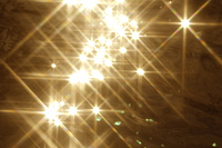 クロスする光