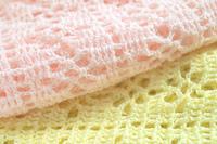 毛糸のかぎ針編み