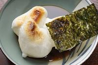 焼き餅と味付け海苔