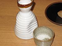 熱燗の日本酒