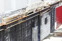 解体した建物