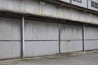 古い貸しガレージ