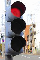 縦型の交通信号機