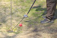 お年寄りのパーゴルフ