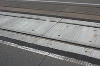 整備した路面電車の路面