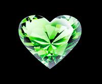 ダイヤのハート