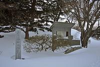 厳冬の松前・松前神社