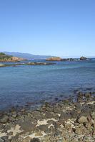 爪木崎の綺麗な海