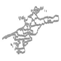 愛媛 地図 フレーム アイコン