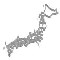 日本 地図 フレーム アイコン