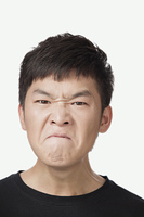 Angry Chinese man