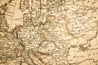 アンティークの古地図 ヨーロッパ