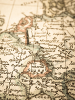 アンティークの古地図 スイス