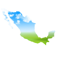 メキシコ 空 地図 アイコン