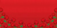 バラ 花 和紙 背景