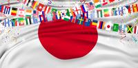 日本  国旗 国 背景