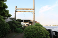 JR鶴見線 海芝浦駅構内海芝公園