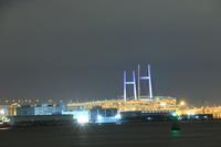 首都高大黒線 横浜ベイブリッジ 夜景