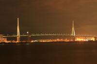 首都高湾岸線鶴見つばさ橋 夜景
