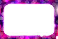 ハロウィン 紫 フレーム 背景