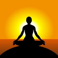 ヨガ 瞑想 日の出