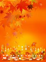 ハロウィン かぼちゃ 秋 背景