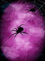ハロウィン 蜘蛛 秋 背景