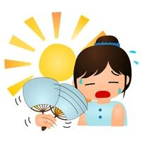 暑い 太陽