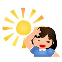 太陽 暑い まぶしい