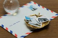 封筒と切手(自作)