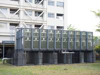 共同住宅の貯水槽