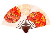 紅葉 秋 扇子 アイコン