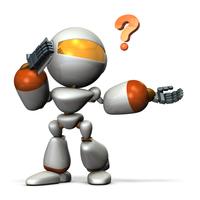 会話が通じず困惑するキュートなロボット