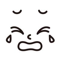 顔 泣き顔