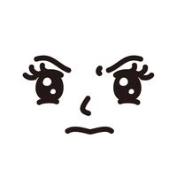 顔 女性 怒り顔