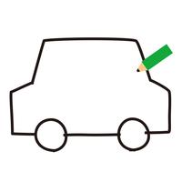 鉛筆 車 テキスト欄