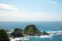 佐多岬から見る海の風景
