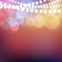 ライトとカラフルな光の背景
