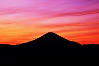 富士山夕景
