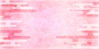 春 ピンク 和紙 背景