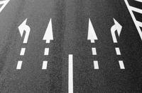 道路と道路標識