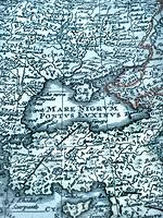 古い世界地図 黒海周辺地域