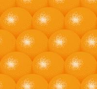 オレンジのイラストの背景