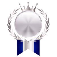 王冠 ローリエ リボン アイコン
