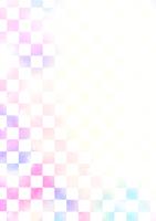 市松模様壁紙