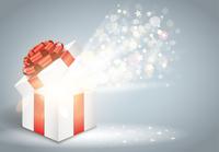 中身が光るプレゼント箱