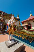 涅槃仏寺の彫刻