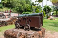 サンチャゴ砦の大砲