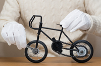 ミニチュア自転車の組立て