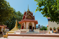 涅槃仏寺のパゴダ